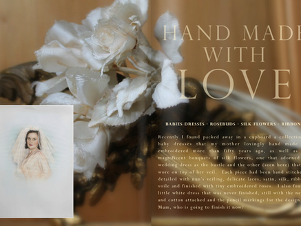 HAND MADE WITH LOVE - THE ROSE ISSUE