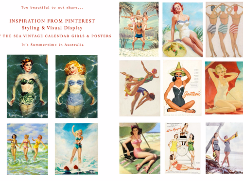 PINTEREST INSPIRATION - VINTAGE BY THE SEA
