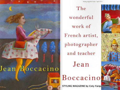 Jean Boccacino - French Artist, photographer & teacher