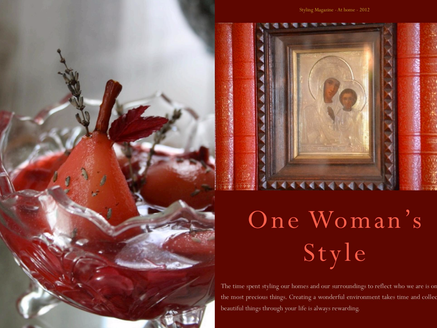 One Woman's Style - Christiane de Bievre