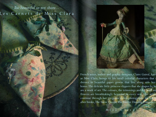 LES CARNETS de MISS CLARA - THE BEAUTIFUL WORK OF FRENCH ARTIST, AUTHOR AND GRAPHIC DESIGNER, CLAIRE