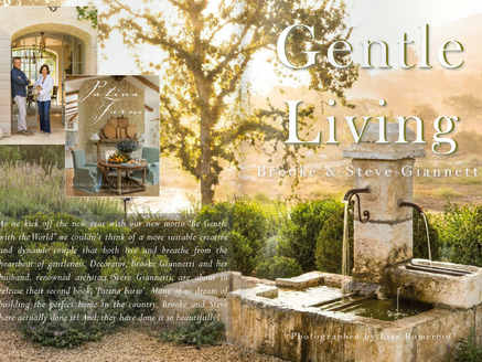 BROOKE & STEVE GIANNETTI FROM VELVET & LINEN CELEBRATE THEIR 2ND BOOK 'PATINA FARM'