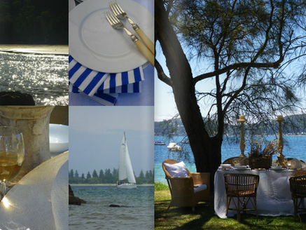 LUNCH BY THE SEA - SUMMER ENTERTAINING PITTWATER, NSW