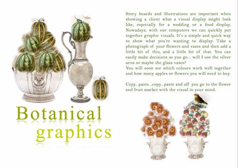 BOTANICAL GRAPHICS - STYLING MAGAZINE INSPIRATION