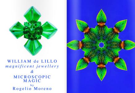 WILLIAM de LILLO Magnificent jewellery & MICROSCOPIC MAGIC by Rogelio Moreno