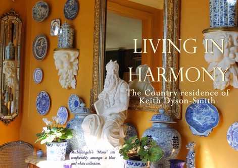 KEITH DYSON-SMITH - LIVING IN HARMONY - HOME AND GARDEN IN MOSS VALE, IN THE SOUTHERN HIGHLANDS OF N