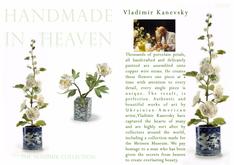 VLADIMIR KANEVSKY - HANDMADE IN HEAVEN - PORCELAIN PETALS & PERFECT FLOWERS
