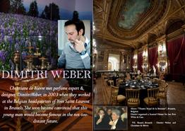 Dimitri Weber - Perfume designer