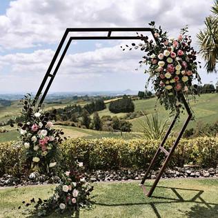 Wedding Hex Arch