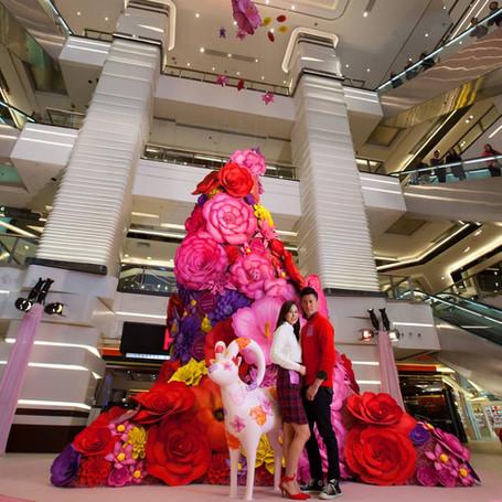 Mira-mall CNY and Valentines Decoration