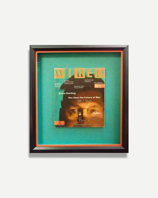 Wired Magazine - Framed Magazine Cover