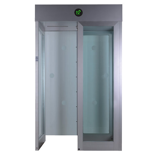 BT 400 GL (Glazed full height turnstile)