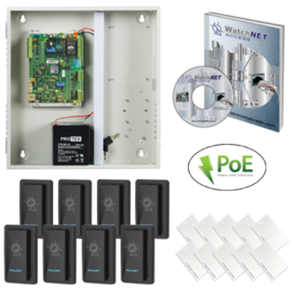 (WatchNET Access Control KIT) WAC‐4D8T‐ENC KIT