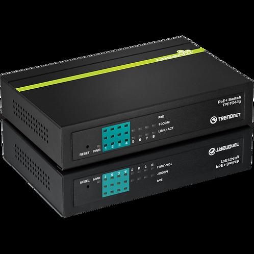 8-Port GREENnet Gigabit PoE+ Switch (TPE-TG44g)