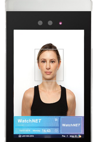 (Face Recognition Device With Built-In Body Temperature Detection)
