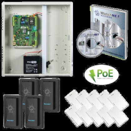 (WatchNET Access Control KIT for  4 doors)WAC‐4D4T‐ENC KIT