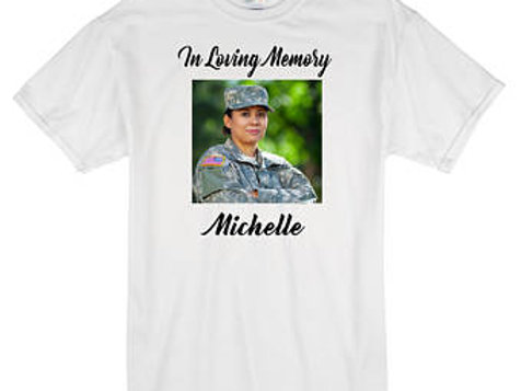 Memorial Shirts (FRONT AND BACK DESIGN)