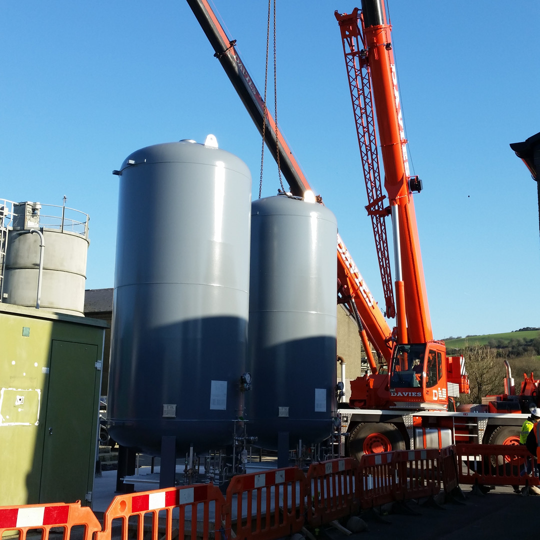 Cryogenic Liquid Storage Vessel Installation