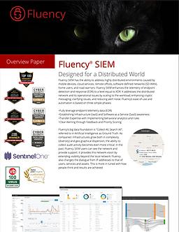 Fluency UEBA SIEM