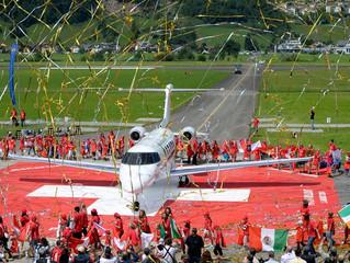 1 Agosto 2014, Pilatus presenta il suo nuovo Jet Privato PC-24.