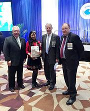 With OTC Chairman Dr. Joe Fowler, JA President Richard and Norman