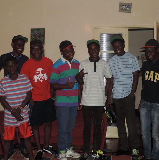 The boys at Funsani Home