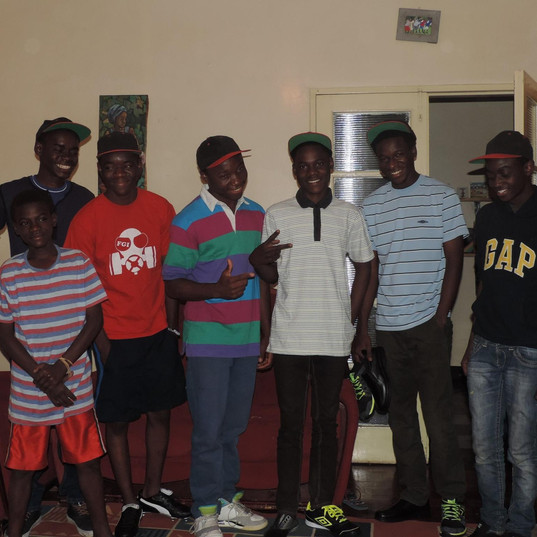 Youngsters at Funsani Home
