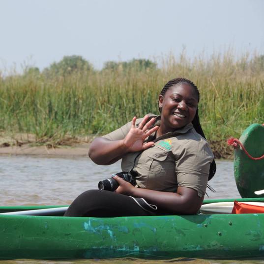 Kwilo on the Zambezi River