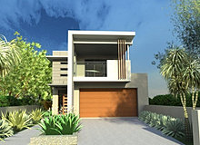 Blueprint designs Skinny block house designs