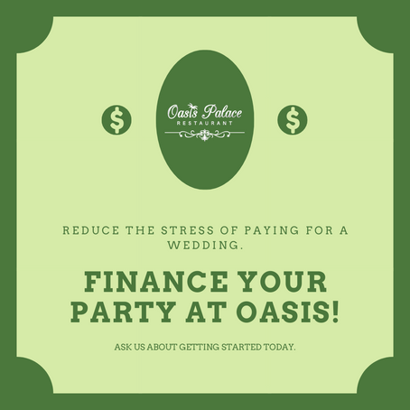 Finance your party