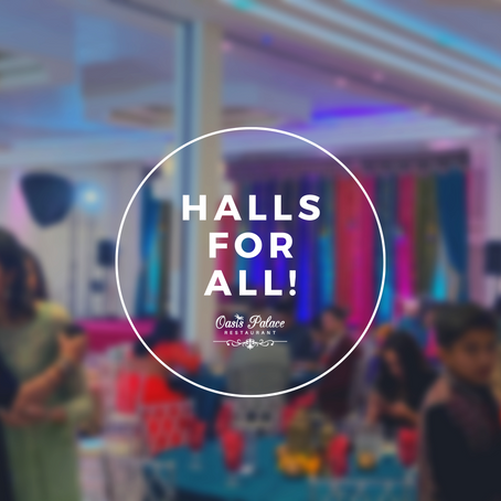 Need a hall? We have your back!