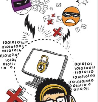 Sua participação é essencial. Interagir com segurança, privacidade e ética na Internet.