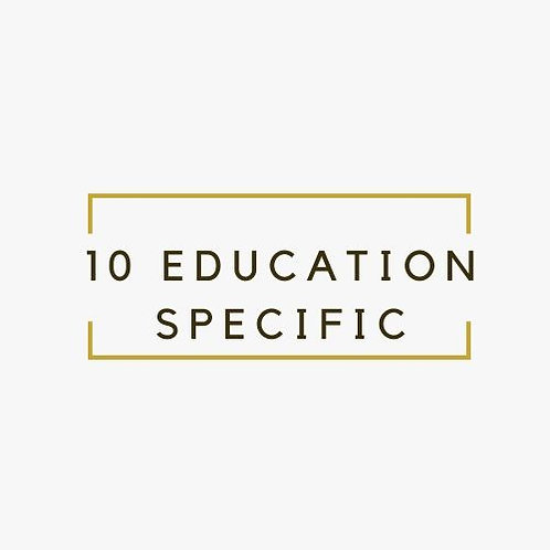 EDUCATION SPECIFIC WORK AT HOME JOBS