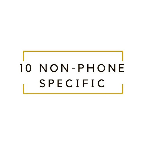 NON PHONE SPECIFIC WORK AT HOME JOBS