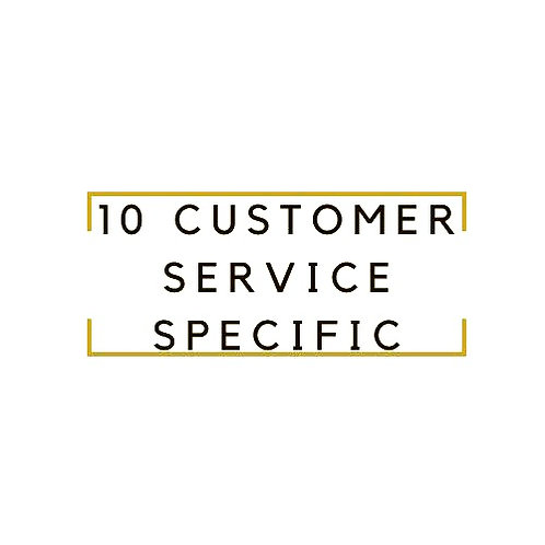CUSTOMER SERVICE SPECIFIC WORK AT HOME JOBS