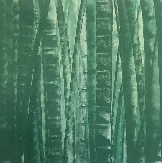 Bamboo Series Green 11, Original Artwork