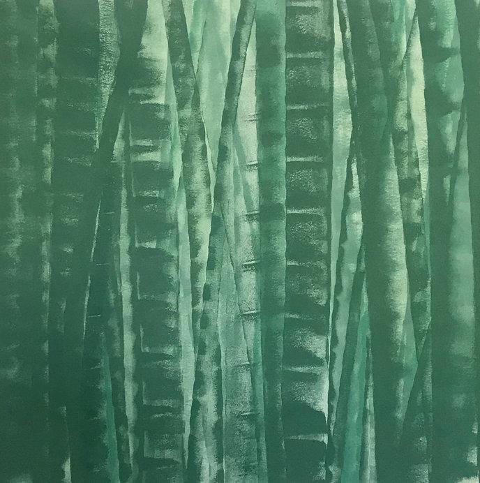 Bamboo Series Green 2, Original Artwork