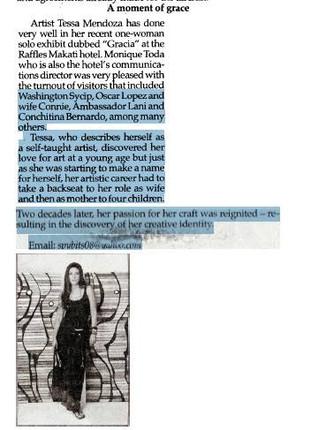 Newspaper Snippet 3
