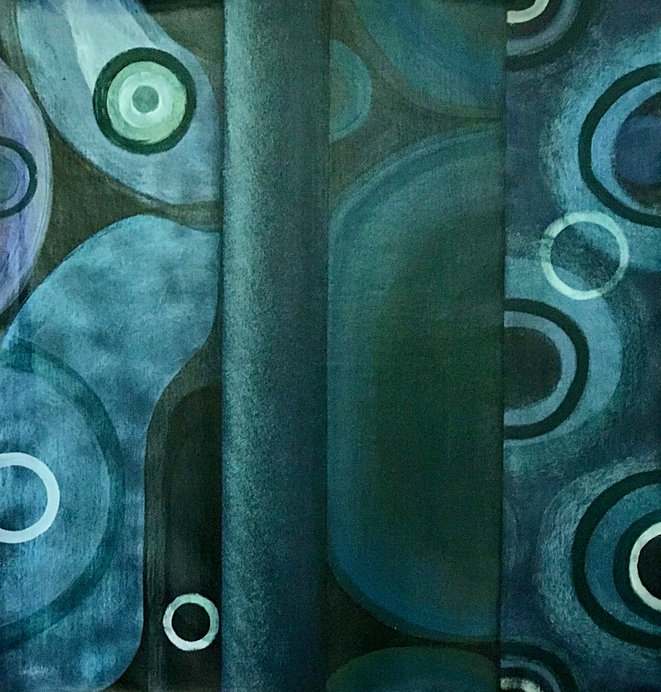 Abstract Blue 3, Original Artwork