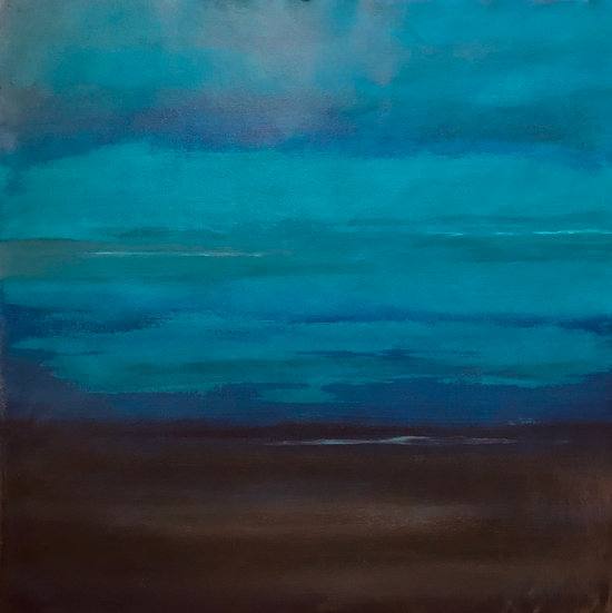 Abstract Blue 4, Original Artwork