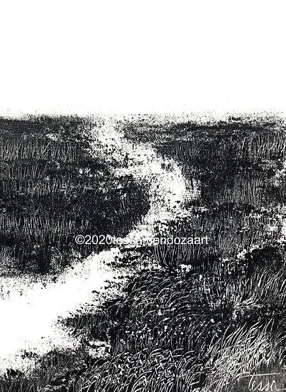 Meditation 17, Limited Edition Print 1/100