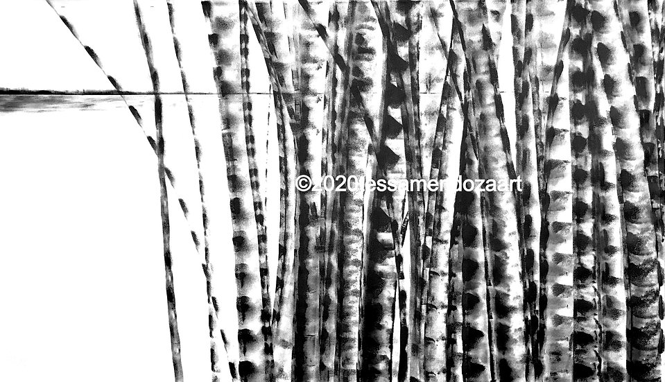 Bamboo Series 14, Original Artwork