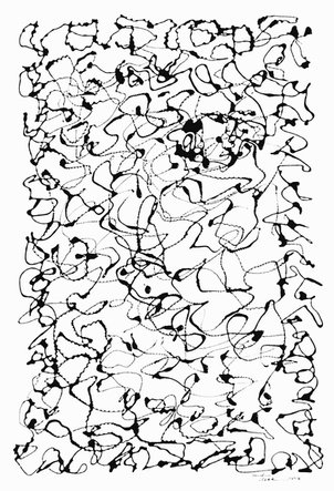 Line Drawing Series, Abstract 12, Original