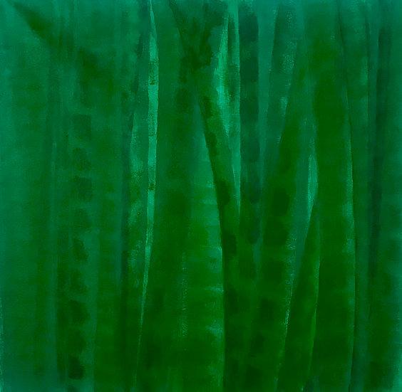 Bamboo Series Green 10, Original Artwork