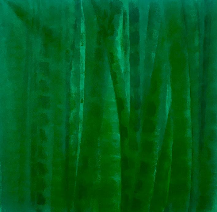 Bamboo Series Green 1, Original Painting