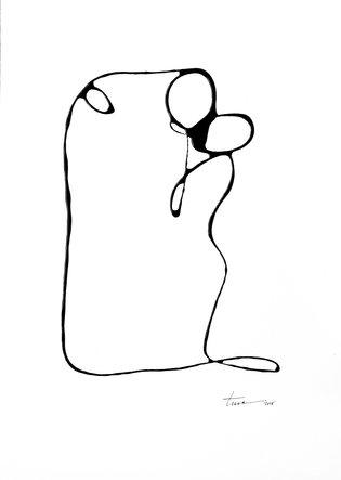 Line Drawing Series, The Kiss 13, Original