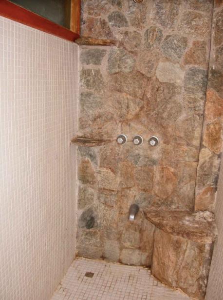 Bamboo Apt Stone Shower