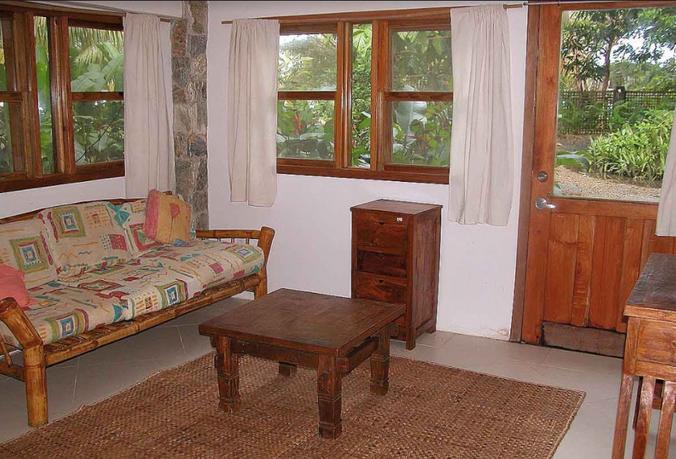 Bamboo Apt Living Room