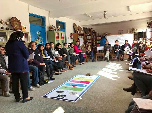 500 enseignants au Népal formés à la CNV