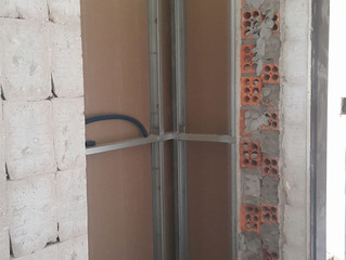 Parede no sistema DryWall
